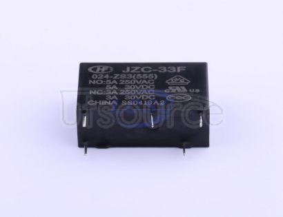 Xiamen Hongfa Electroacoustic JZC-33F/024-ZS3(555)