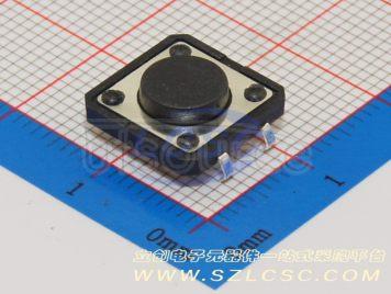 BBJ Switch,12*12*6Plastic head,260G,0.25mm,Straight line(10pcs)