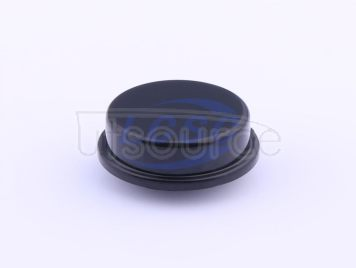 Made in China Button cap round12x12x7.3 black(50pcs)