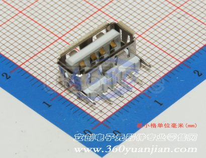 Jing Extension of the Electronic Co. A/F909.1PBT White plastic Not high temperature(10pcs)