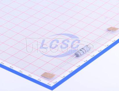 CCO(Chian Chia Elec) MOF5WS-100Ω±5% T(5pcs)