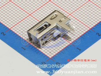 Jing Extension of the Electronic Co. AF90degree Internal buckle Boundless Inside the bomb iron White plastic 90degree Not high temperature(10pcs)