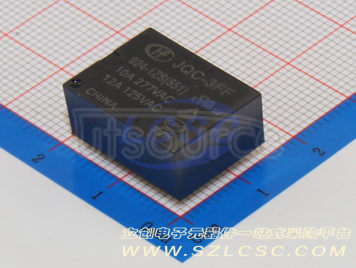 HF(Xiamen Hongfa Electroacoustic) JQC-3FF/024-1ZS