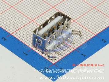 Jing Extension of the Electronic Co. A/F90 PBT White plastic Not high temperature(10pcs)