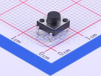 BBJ Switch,6*6*6.5Plastic head,260G, 0.25mm,Straight line(20pcs)