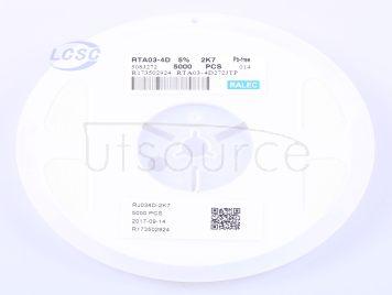 RALEC RTA03-4D272JTP(50pcs)