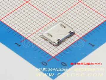 Jing Extension of the Electronic Co. MICRO 5PFemale BType all posts Short needle High temperature(5pcs)