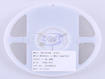 Thunder Component MELF-MFR02041/4WS2.2KΩFT50(20pcs)