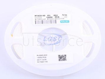RALEC RTA02-4D222JTP(50pcs)