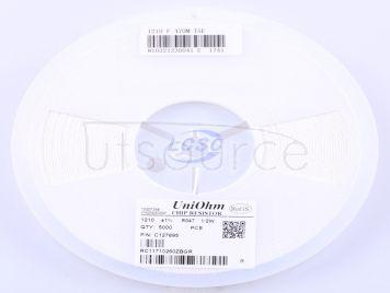 UNI-ROYAL(Uniroyal Elec) 1210W2F470MT5E(20pcs)