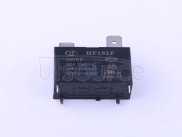HF(Xiamen Hongfa Electroacoustic) HF102F-24VDC