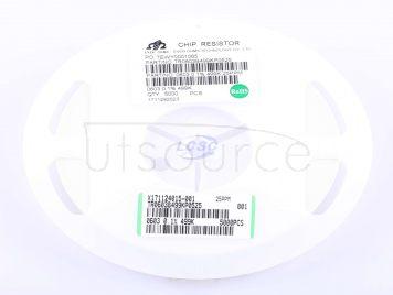 Ever Ohms Tech TR0603B499KP0525Z(20pcs)