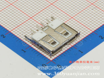 Jing Extension of the Electronic Co. A/F18010 PBTWhite plastic Not high temperature(10pcs)