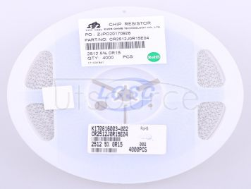 Ever Ohms Tech CR2512JR150E04R(10pcs)