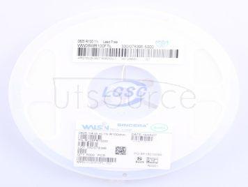 Walsin Tech Corp WW08WR100FTL(50pcs)