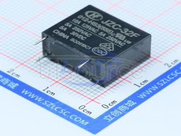 HF(Xiamen Hongfa Electroacoustic) JZC-32F/012-HS3(555)
