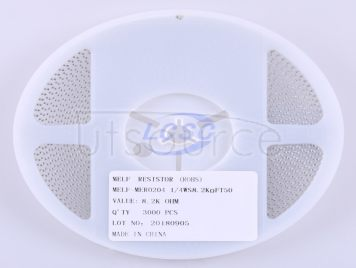 Thunder Component MELF-MFR02041/4WS8.2KΩFT50(20pcs)