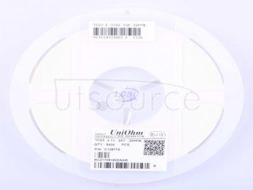 UNI-ROYAL(Uniroyal Elec) TC0325F2701T5E(50pcs)