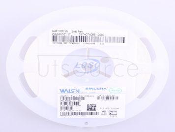 Walsin Tech Corp WA04X101JTL(50pcs)