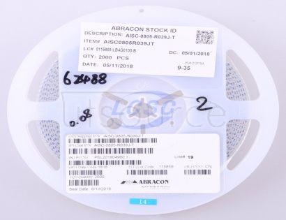 Abracon LLC AISC-0805-R039J-T