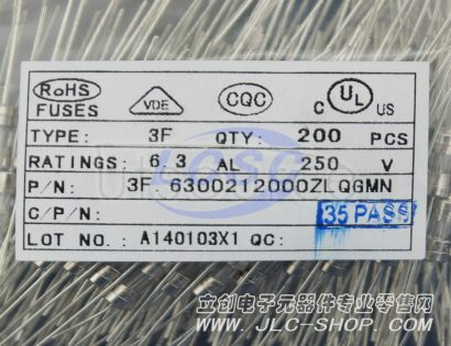 XC Elec(Shenzhen) 6.3A 250VAC