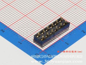 BOOMELE(Boom Precision Elec) 2.54mm 2x6 Female header(10pcs)
