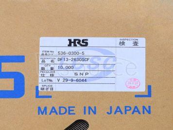 HRS(Hirose) DF13-2630SCF(100pcs)