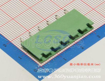 Ningbo Kangnex Elec WJ2EDGV-5.08-6P(5pcs)