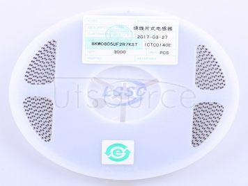 FH-BK(Guangdong Fenghua Bangke Elec) BKW0805UF2R7KST(10pcs)
