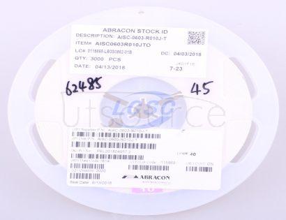 Abracon LLC AISC-0603-R010J-T