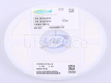 Chilisin Elec CS0603-R18J-S(10pcs)