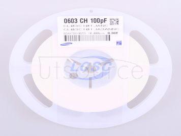 Samsung Electro-Mechanics CL03C101JA3ANNC(50pcs)