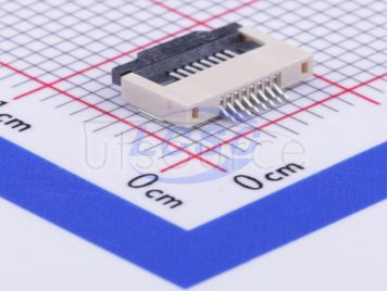 BOOMELE(Boom Precision Elec) FPCConnector 8P 0.5mmpitch H2.0mm Clamshell Under the next(23pcs)