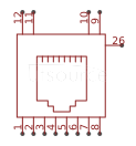 CONNFLY Elec DS1129-04-S8B0P-S