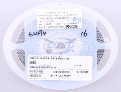 Abracon LLC AISC-1210HS-220K-T2