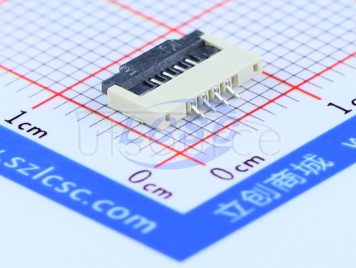 BOOMELE(Boom Precision Elec) FPC 1.0mmpitch 4P Clamshell Under the next(6pcs)