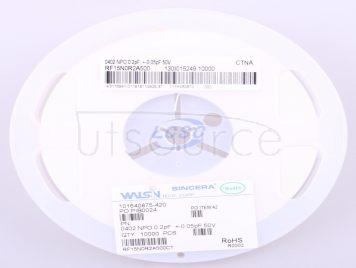Walsin Tech Corp RF15N0R2A500(20pcs)