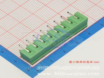 Ningbo Kangnex Elec WJ2EDGRC-5.08-8P(5pcs)