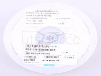 Abracon LLC AISC-0603-R0075G-T