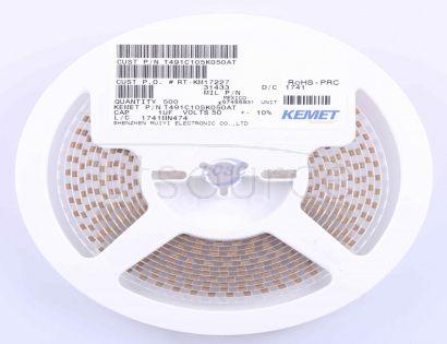 KEMET T491C105K050AT