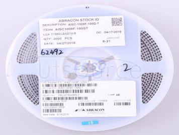 Abracon LLC AISC-1008F-100G-T