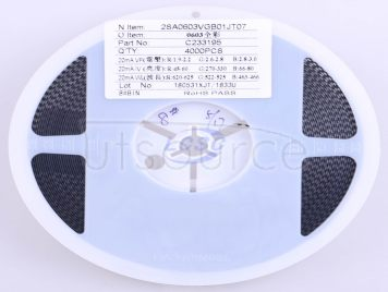 Brightek Optoelectronics 2SA0603VGB01JT07