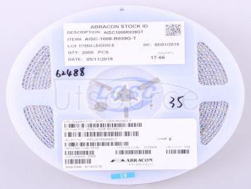 Abracon LLC AISC-1008-R039G-T