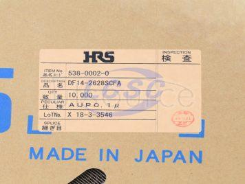 HRS(Hirose)/HRS DF14-2628SCFA(100pcs)