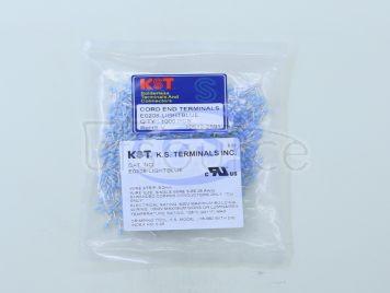 KST(K.S Terminals) E0208-LIGHTBLUE(100pcs)