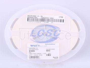 Walsin Tech Corp 0402N391J500(50pcs)
