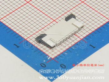 BOOMELE(Boom Precision Elec) FPC 1.0mmpitch 6P Pull type Pick up(11pcs)