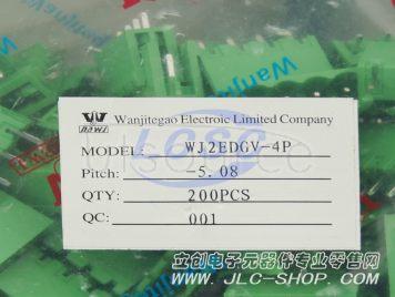 Ningbo Kangnex Elec WJ2EDGV-5.08-4P(10pcs)