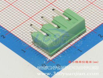 Ningbo Kangnex Elec WJ2EDGRC-5.08-3P(10pcs)