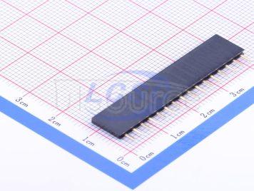 Ckmtw(Shenzhen Cankemeng) Female header 1*16P 2.54mm Straight line